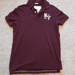 Mens Abercrombie and Fitch polo